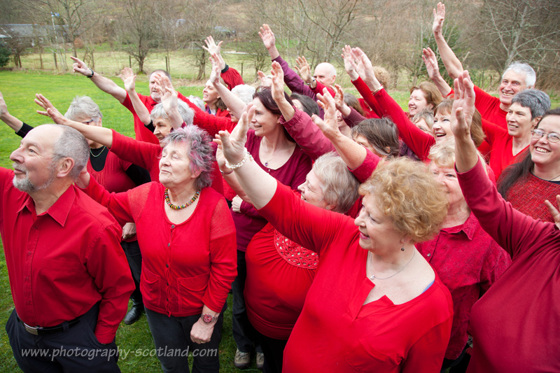 Sangstream folk choir, Edinburgh